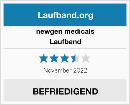 newgen medicals Laufband  Test