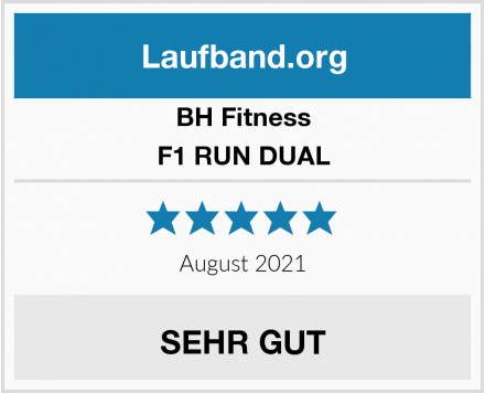 BH Fitness F1 RUN DUAL Test