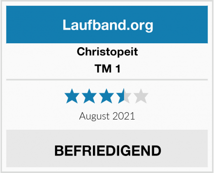 Christopeit TM 1 Test