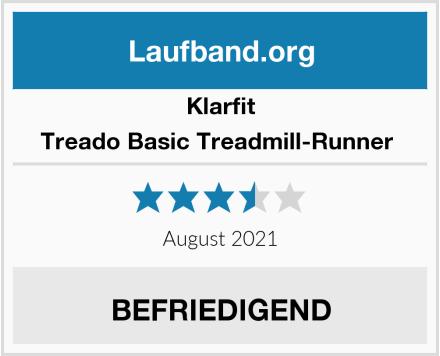 Klarfit Treado Basic Treadmill-Runner  Test
