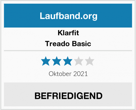 Klarfit Treado Basic Test