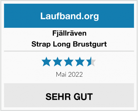 Fjällräven Strap Long Brustgurt Test