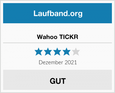 Wahoo TICKR Test