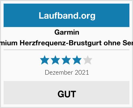 Garmin Premium Herzfrequenz-Brustgurt ohne Sender Test