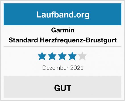 Garmin Standard Herzfrequenz-Brustgurt  Test