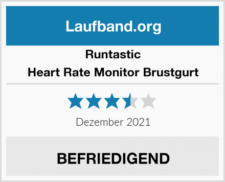 Runtastic Heart Rate Monitor Brustgurt Test