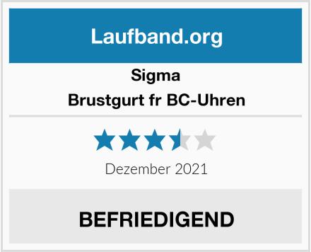 Sigma Brustgurt fr BC-Uhren Test