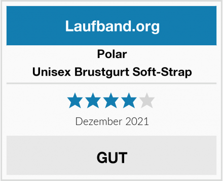 Polar Unisex Brustgurt Soft-Strap Test