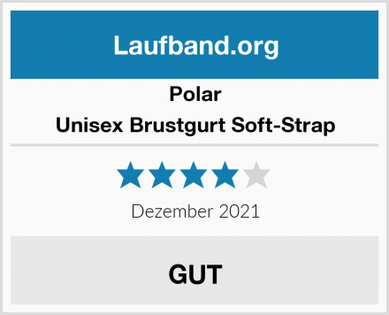Polar Unisex Brustgurt Soft-Strap Test