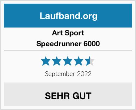 Art Sport Speedrunner 6000 Test