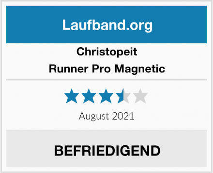 Christopeit Runner Pro Magnetic Test