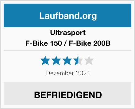 Ultrasport F-Bike 150 / F-Bike 200B  Test