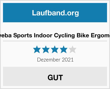 Miweba Sports Indoor Cycling Bike Ergometer Test
