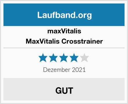 MaxVitalis MaxVitalis Crosstrainer Test