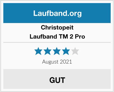 Christopeit Laufband TM 2 Pro Test