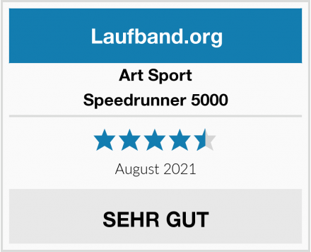Art Sport Speedrunner 5000 Test