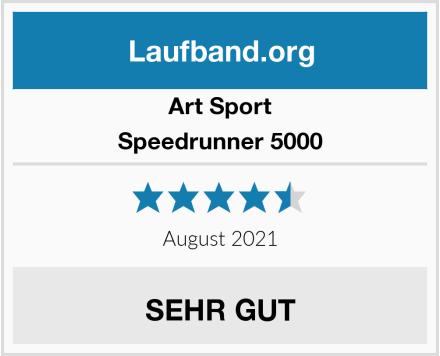 Art Sport Speedrunner 5000 Test