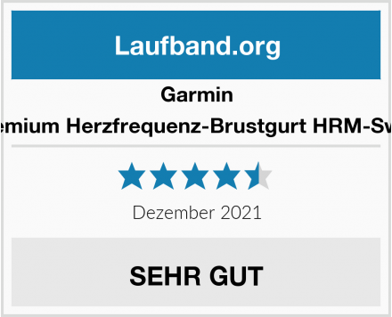 Garmin Premium Herzfrequenz-Brustgurt HRM-Swim Test