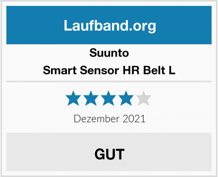 Suunto Smart Sensor HR Belt L Test