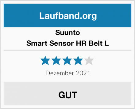 Suunto Smart Sensor HR Belt L Test