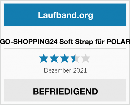GO-SHOPPING24 Soft Strap für POLAR Test