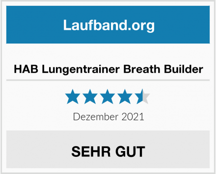 No Name HAB Lungentrainer Breath Builder Test