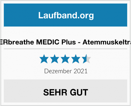 No Name POWERbreathe MEDIC Plus - Atemmuskeltraining Test