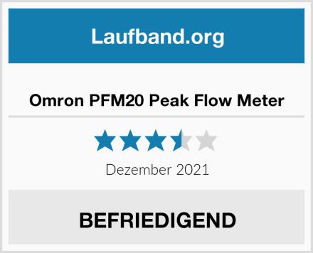 Omron PFM20 Peak Flow Meter Test