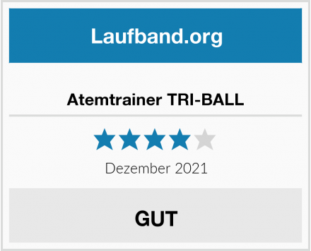 Atemtrainer TRI-BALL Test