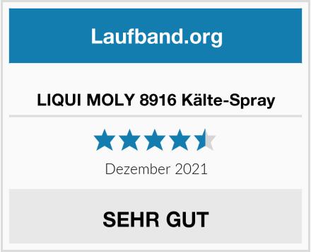 LIQUI MOLY 8916 Kälte-Spray Test