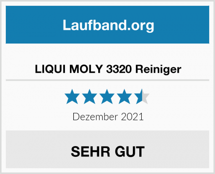LIQUI MOLY 3320 Reiniger Test