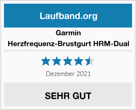 Garmin Herzfrequenz-Brustgurt HRM-Dual Test