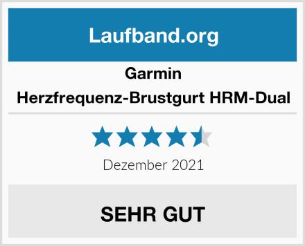 Garmin Herzfrequenz-Brustgurt HRM-Dual Test