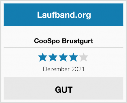 CooSpo Brustgurt Test