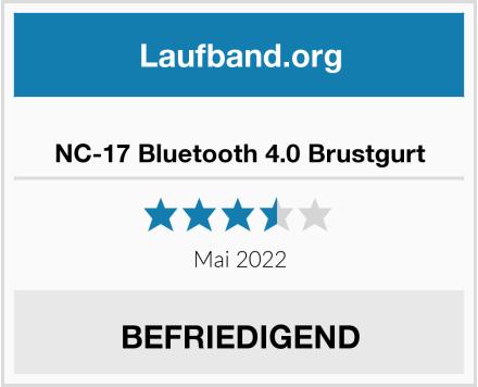 NC-17 Bluetooth 4.0 Brustgurt Test