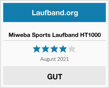 Miweba Sports Laufband HT1000 Test