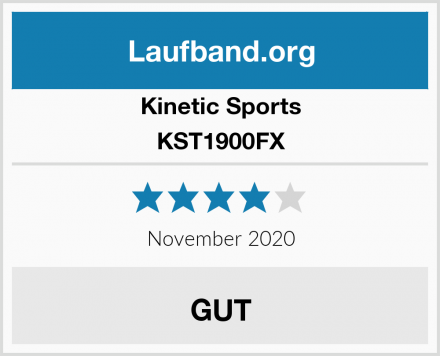 Kinetic Sports KST1900FX Test