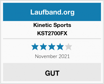 Kinetic Sports KST2700FX Test