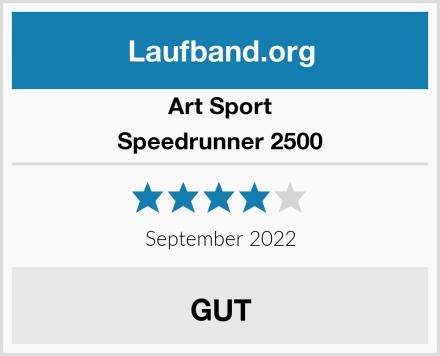 Art Sport Speedrunner 2500 Test