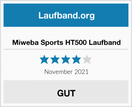 Miweba Sports Laufband HT500 Test