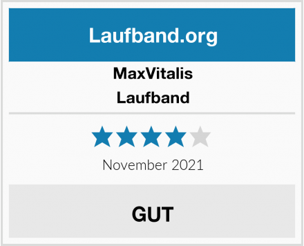 MaxVitalis Laufband Test