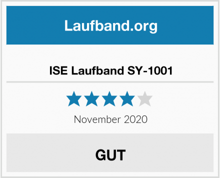 ISE Laufband SY-1001 Test