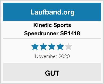 Kinetic Sports Speedrunner SR1418 Test