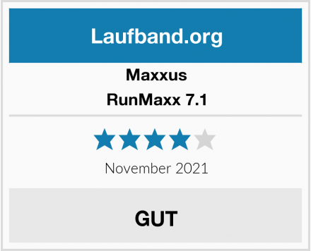Maxxus RunMaxx 7.1 Test