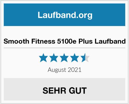 Smooth Fitness 5100e Plus Laufband Test