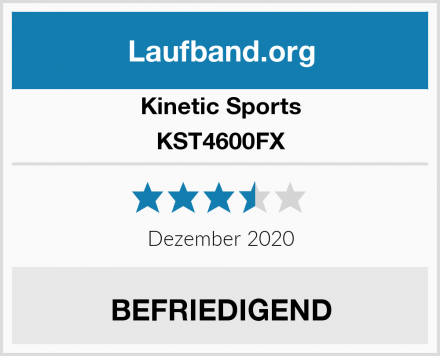 Kinetic Sports KST4600FX Test