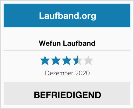Wefun Laufband Test
