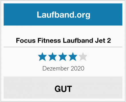 Focus Fitness Laufband Jet 2 Test