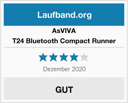 AsVIVA T24 Bluetooth Compact Runner Test