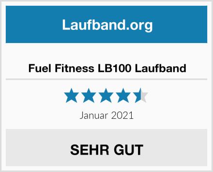 Fuel Fitness LB100 Laufband Test